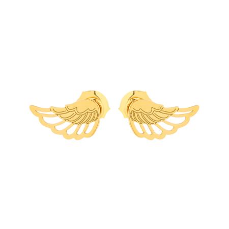 Złote sztyfty skrzydełka.
